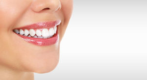 woman's smile, teeth whitening services baytown texas